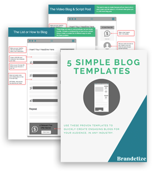 Access The FREE Blog Templates Now